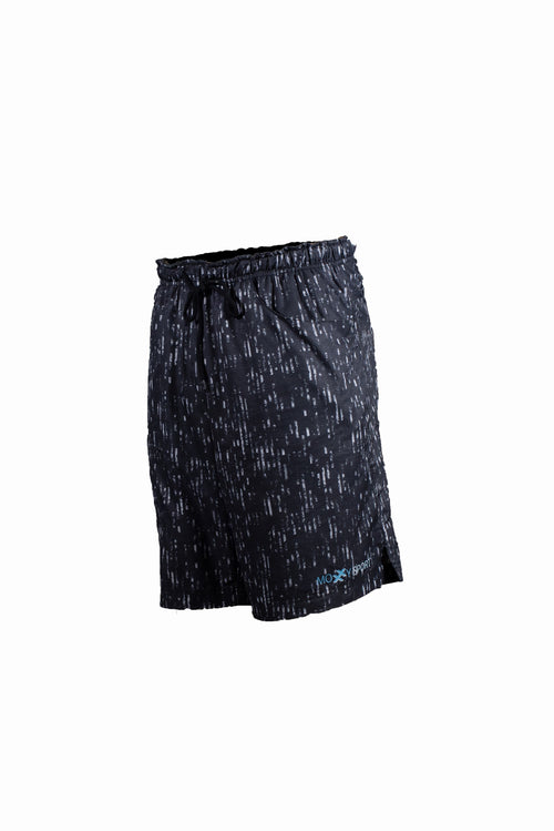 "Court breathe printed shorts - ""Darth"""