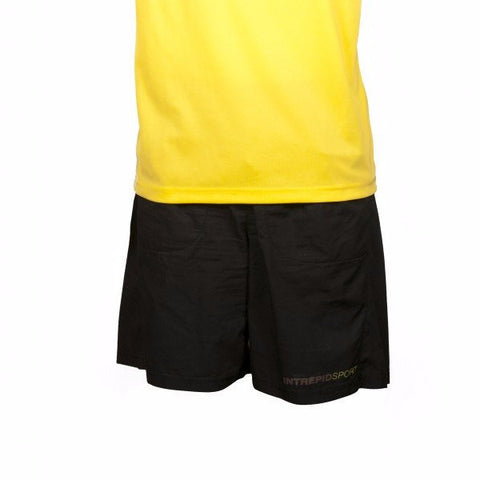 Solid men's round neck tennis shirt