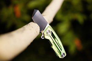 Tactical Geek Variable X Folding Knife Vintage Version Coming Soon