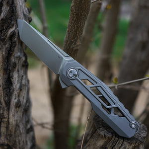 Tacticalgeek VX2 Titaniun Knife