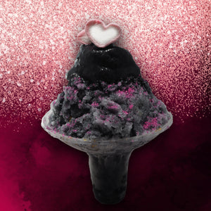Black Pink Ice Bingsu