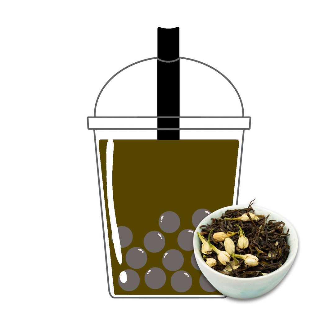 Roasted Japanese Oolong Milk Tea