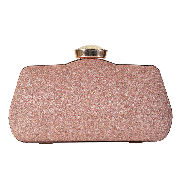 The Champagne Gleamy Sea Bed Clutch