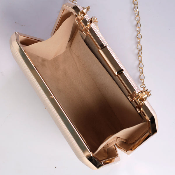 Golden Splash of Plushness Clutch