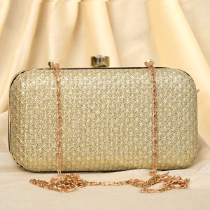 The Golden Treasure Clutch