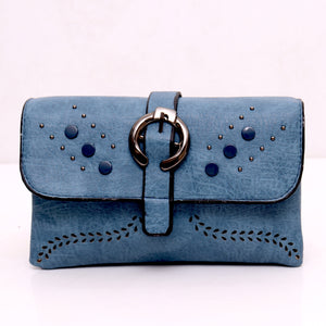 A different kind of Blue Doublestyle bag