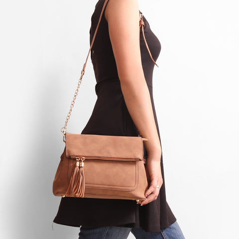 Love For Tassels Sling Bag