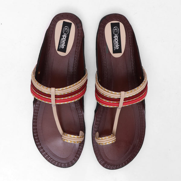 Foot Wear,Brown Base Everyday Flats - Cippele Multi Store