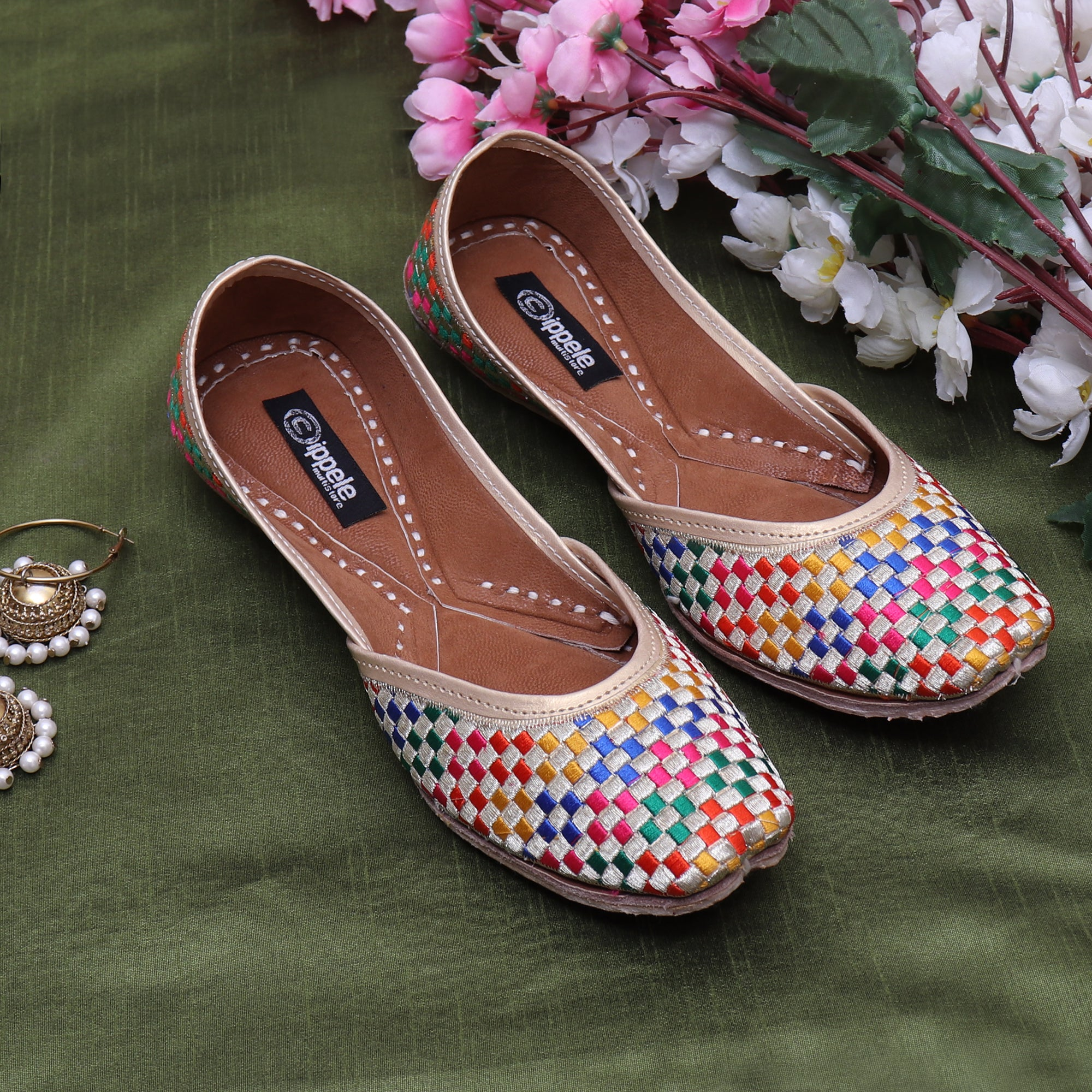 Foot Wear,Fabulous For Feet Multicolor Jutti - Cippele Multi Store