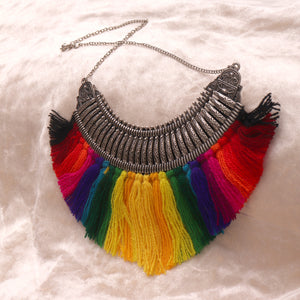 Necklace,Good Luck Statement Necklace - Cippele Multi Store