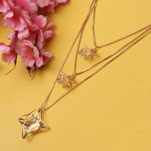 Necklace,Starry Affair Long Necklace - Cippele Multi Store