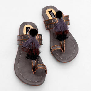 Time for Tassels Sandals