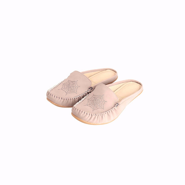 Foot Wear,Get Going Cream Loafer Mule - Cippele Multi Store