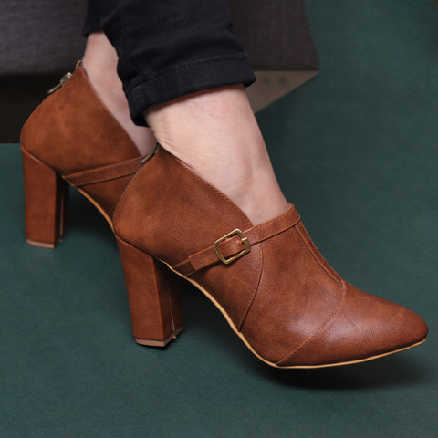 Foot Wear,Brown Lit Stylish Boots - Cippele Multi Store