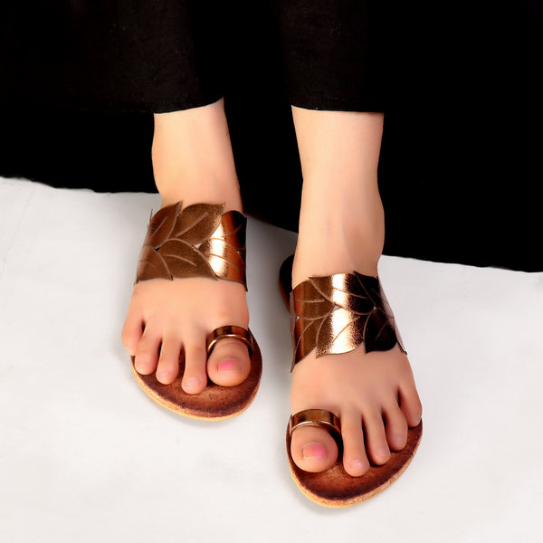 Foot Wear,Wild Card Bronze Sandals - Cippele Multi Store
