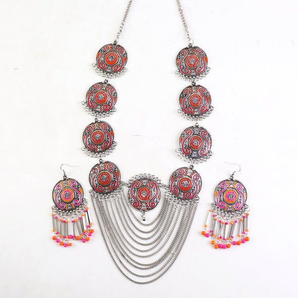 Necklace Set,Full Of Charm Necklace Set - Cippele Multi Store