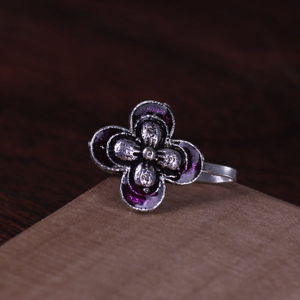 The Butterfly Nose Pin in Purple