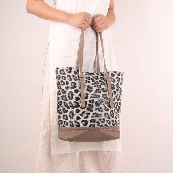 The Wild Foot Steps Tote Bag