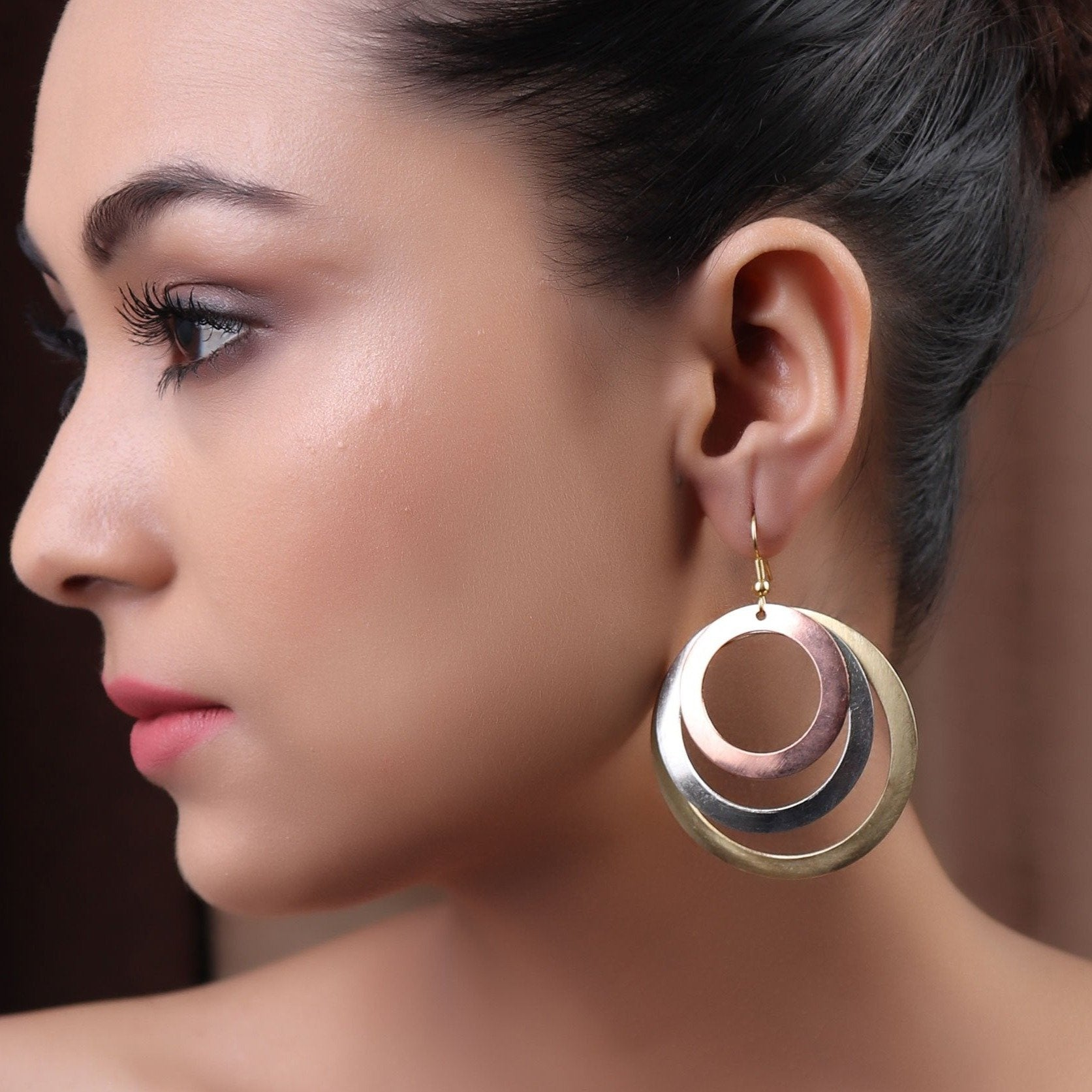 Earrings,The Circle of Trust Earring - Cippele Multi Store