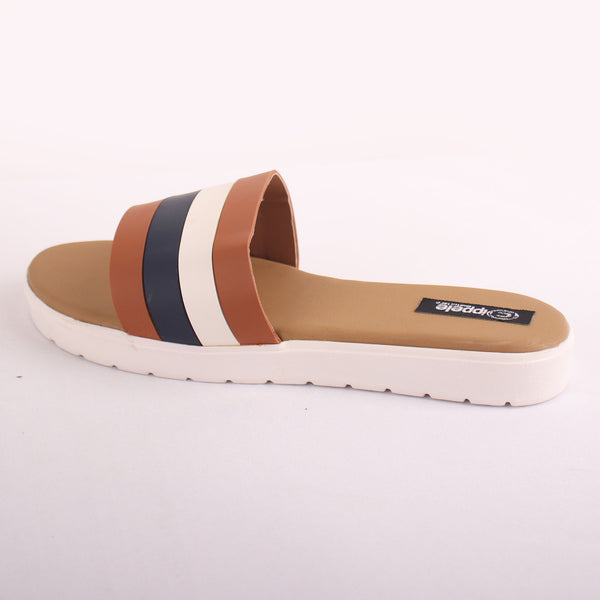 Foot Wear,The Beach Escape Flats in Tan - Cippele Multi Store