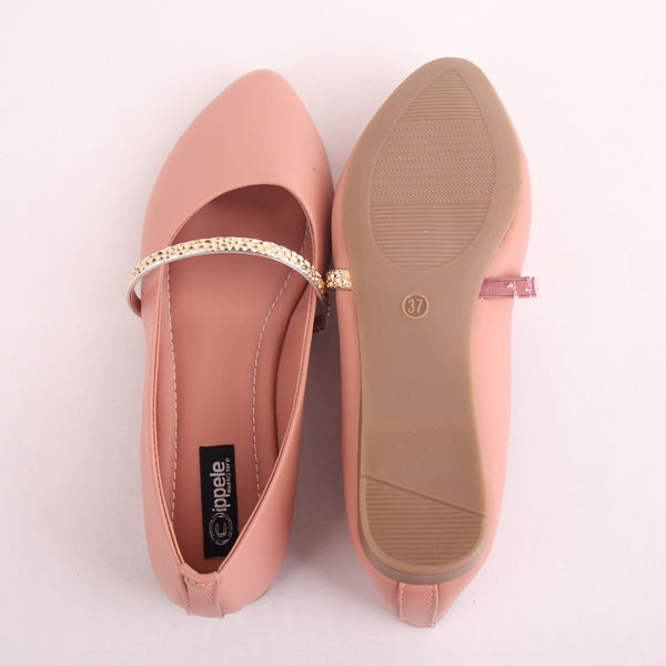 Foot Wear,The Ornamented string Nude Belly - Cippele Multi Store