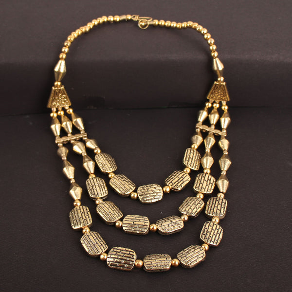 Necklace,The Dreamy Chip Necklace in Golden - Cippele Multi Store