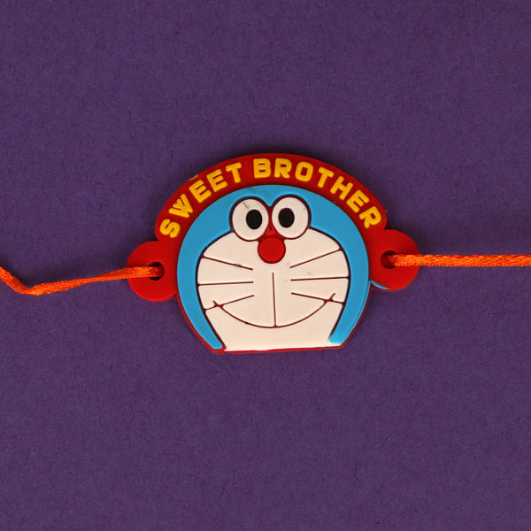 The Sweet Brother Doremon Rakhi- Set of 3