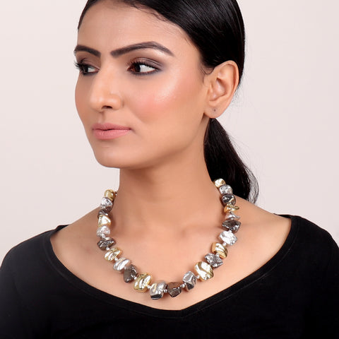 Necklace,Pebble Necklace - Cippele Multi Store