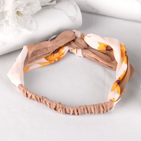 Set Of 3 Pretty Knot Hair Bands