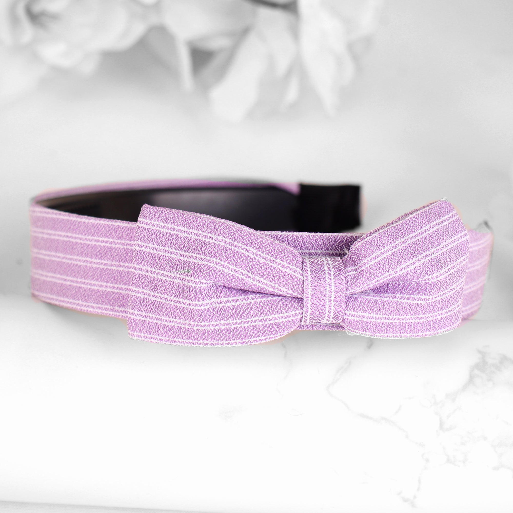 HairBand,Bewitching Bow Hair Band in Mauve - Cippele Multi Store
