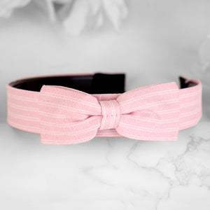 HairBand,Bewitching Bow Hair Band in Pink - Cippele Multi Store