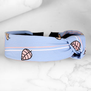 HairBand,Wild Leaves Tiara Hair Band in Sky Blue - Cippele Multi Store