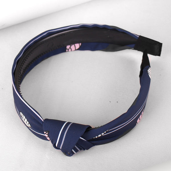 HairBand,Wild Leaves Tiara Hair Band in Dark Blue - Cippele Multi Store