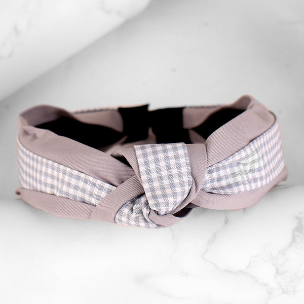 HairBand,Quirky Knot Hair Band in Grey - Cippele Multi Store