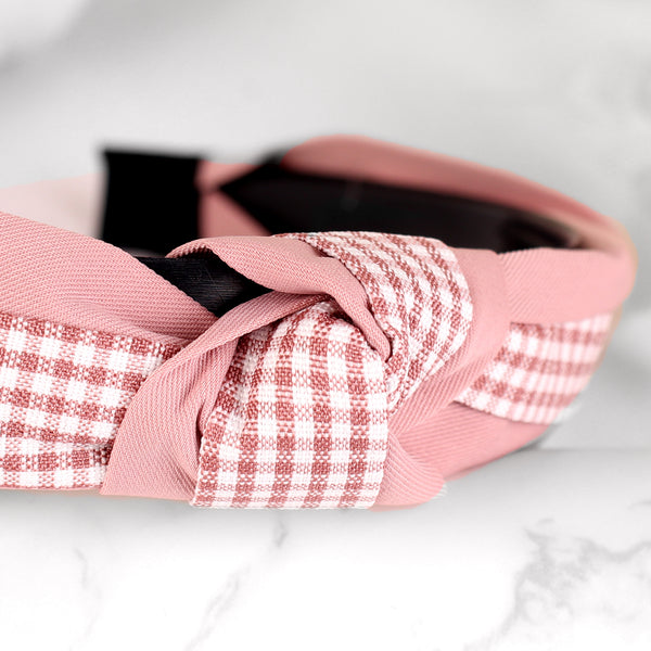 HairBand,Quirky Knot Hair Band in Pink - Cippele Multi Store
