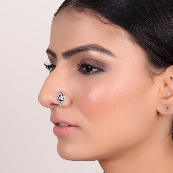 Nose Pin,Leaf Nose Pin - Cippele Multi Store