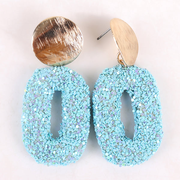 Earrings,Dazzling Earrings in Turquoise - Cippele Multi Store