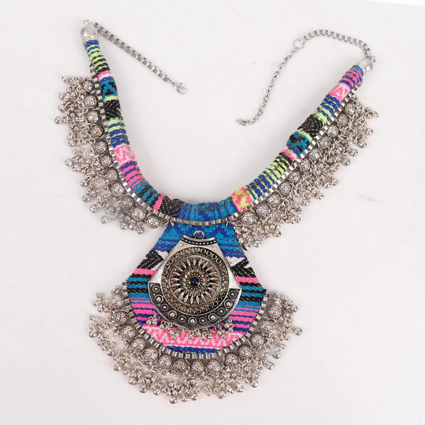 Necklace,Multicolor Boho Necklace - Cippele Multi Store