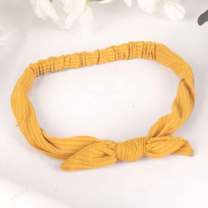 HairBand,The Mermaid's Fabric Hairband in Yellow - Cippele Multi Store