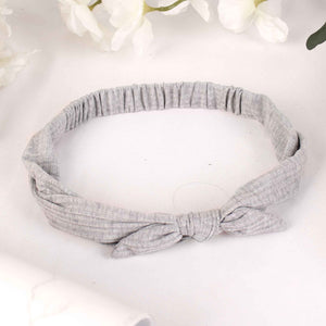 HairBand,The Mermaid's Fabric Hairband in Light Grey - Cippele Multi Store