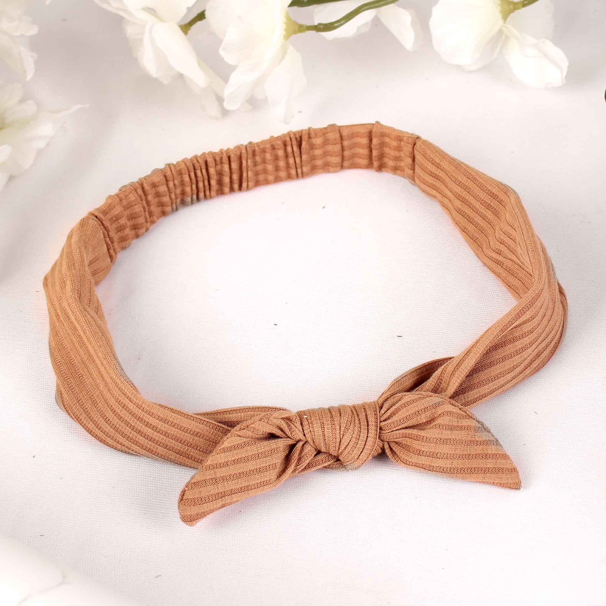 HairBand,The Mermaid's Fabric Hairband in Brown - Cippele Multi Store