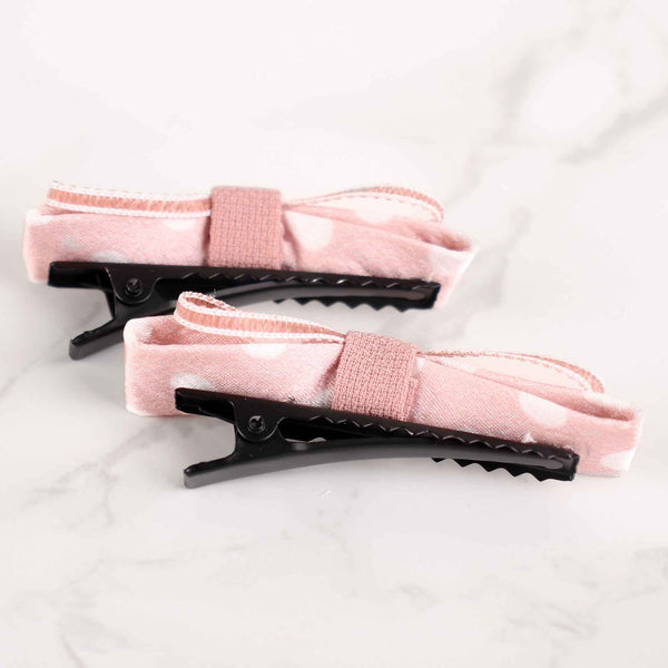 HairBand,Love Me Knot Hair Clips in Pink - Cippele Multi Store