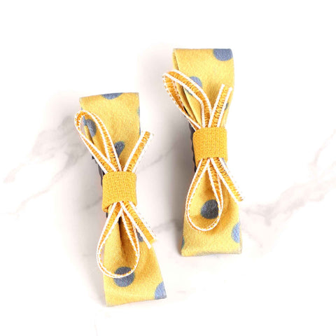 HairBand,Love Me Knot Hair Clips in Yellow - Cippele Multi Store