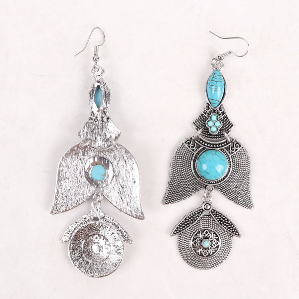 Earrings,Light Blue Stone Earrings - Cippele Multi Store