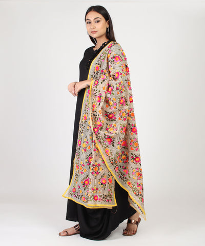 The Blooming flower Vatika Phulkari Dupatta