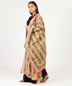 The Floret Phulkari Dupatta