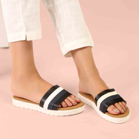 Foot Wear,The Beach Escape Flats in Black - Cippele Multi Store