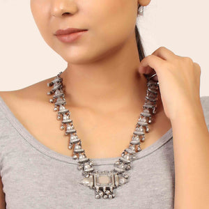 Necklace,The Architectural Ridges Necklace - Cippele Multi Store