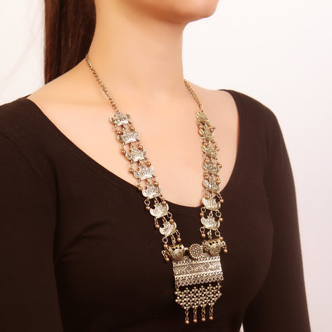 Necklace,Alluring Vintage Look Necklace - Cippele Multi Store