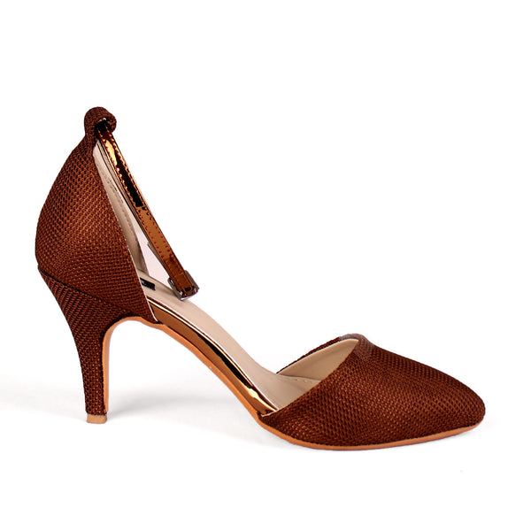 Foot Wear,The Quirky soft Sand Paper Heel in Brown - Cippele Multi Store